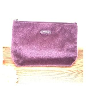 Handbags - Lancome purple makeup bag!! Accessories bag!